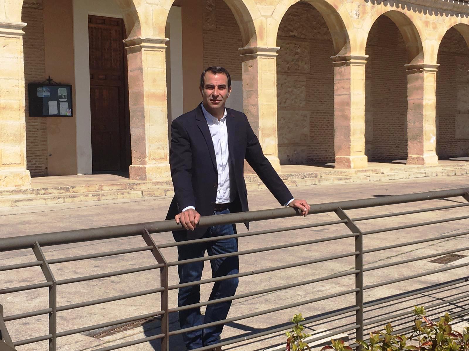 Víctor Malo, candidato a alcalde de Ajalvir por la Agrupación Independiente